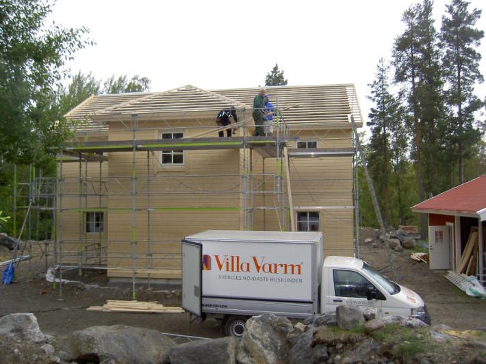 Montering av takläkt