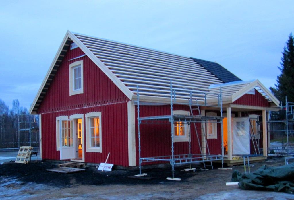 Lantligt generationshus stomrest i Skellefteå