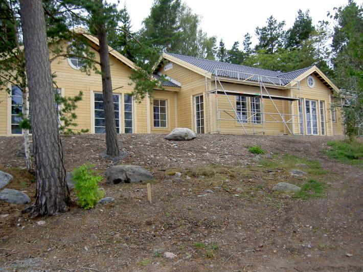 Stomrest Skärgårdshus Villa Varm