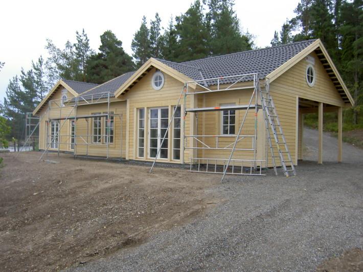 Villa Blidö stomrest skärgårdshus