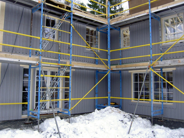 New Englandhus stomrest Villa Varm