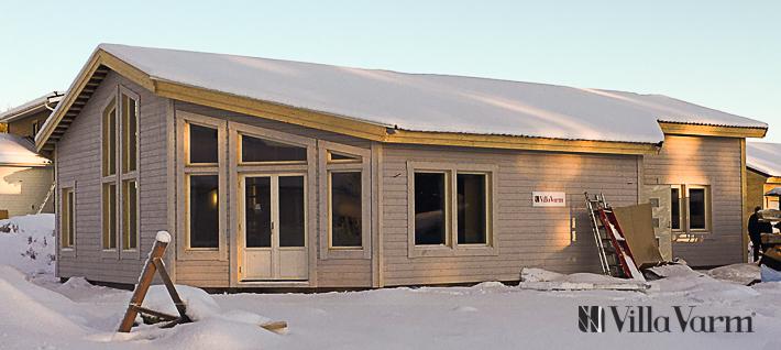 Modernt enplanshus stomrest i Luleå