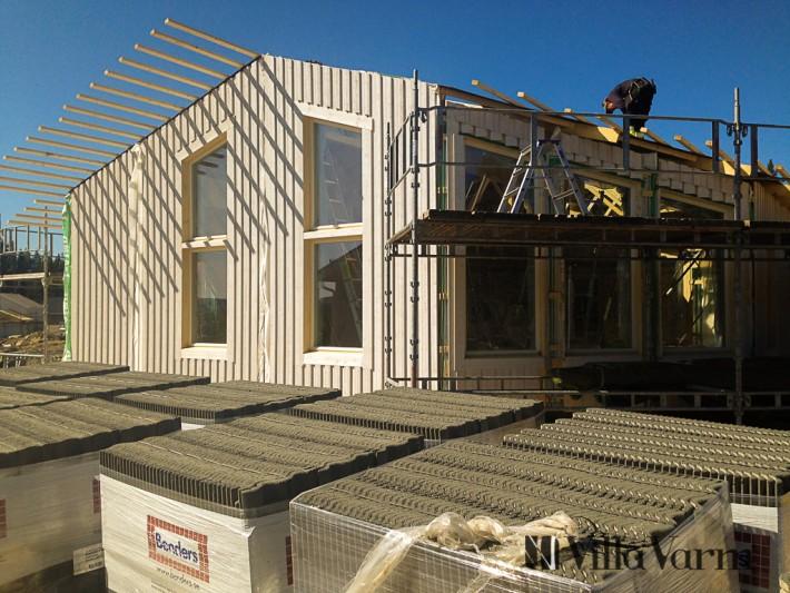 Regling av tak stomrest hus