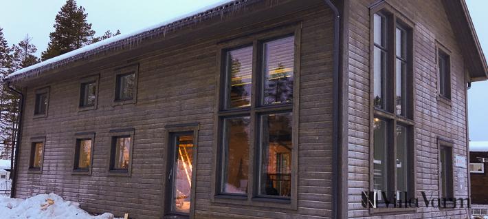 Modernt fritidshus med hög standard i Kåbdalis